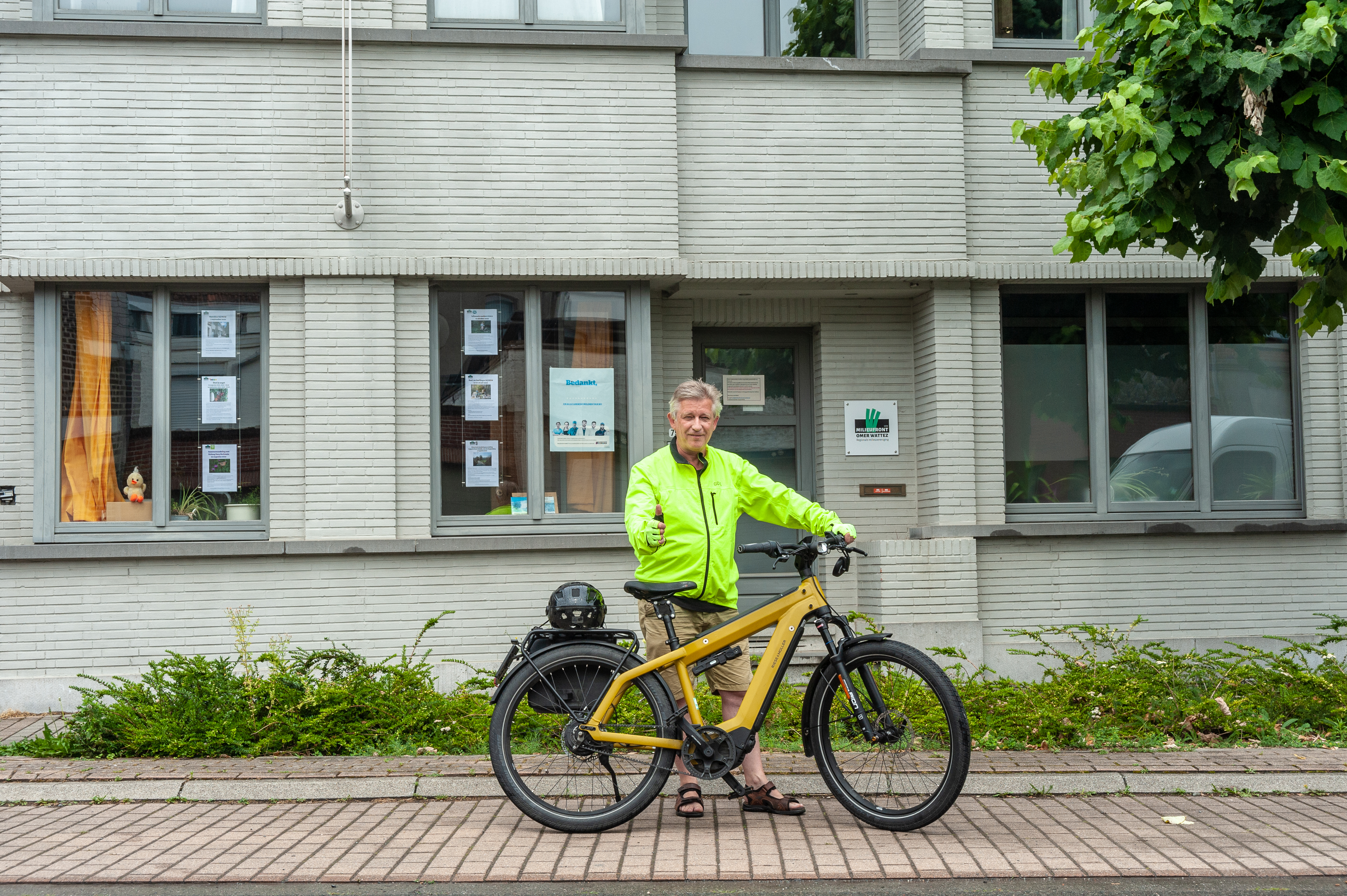 De flitsende fietser: Chris Ysebaert