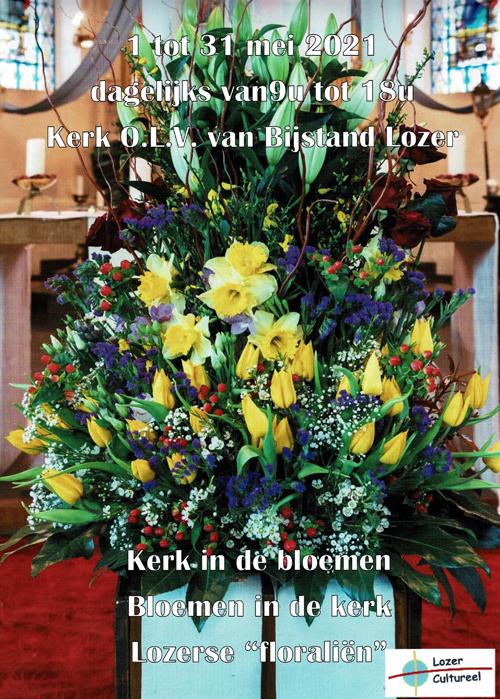 Kerk in de bloemen in Lozer
