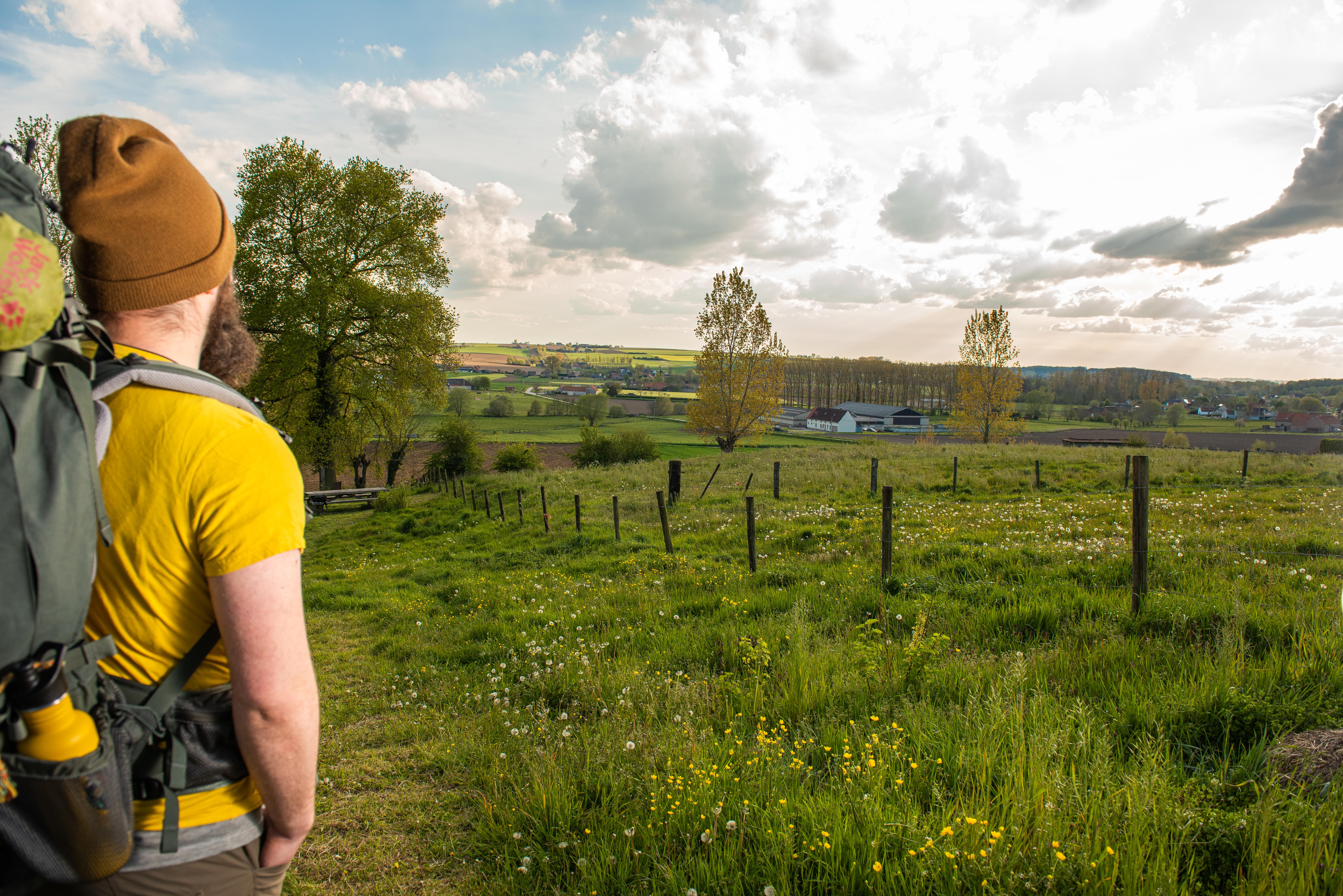 Teun Swerts wandelt de volledige Streek-GR Vlaamse Ardennen af